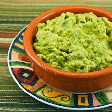 Recipe for Cilantro-Lovers Perfect Guacamole with Red Onion, Lime, and Chiles