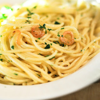 Aglio e Olio (Garlic and Oil Sauce)