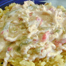 Turkey Confetti in Creamy Chili Sauce