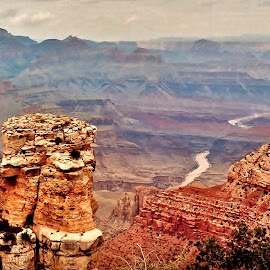 Colorado River, Grand Canyon by Tim Hall - Landscapes Deserts ( backpacking, colorado river, desert southwest, arizona, national parks, hike, hiking, grand canyon,  )