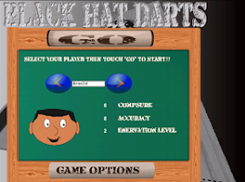 Screenshot of BH Darts - Round The Clock edt
