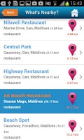 Screenshot of Maldives Guide, Map & Hotels