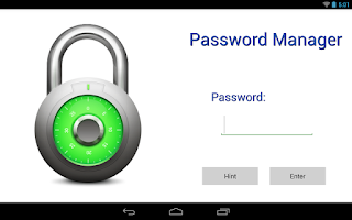 Screenshot of Password Manager Lite