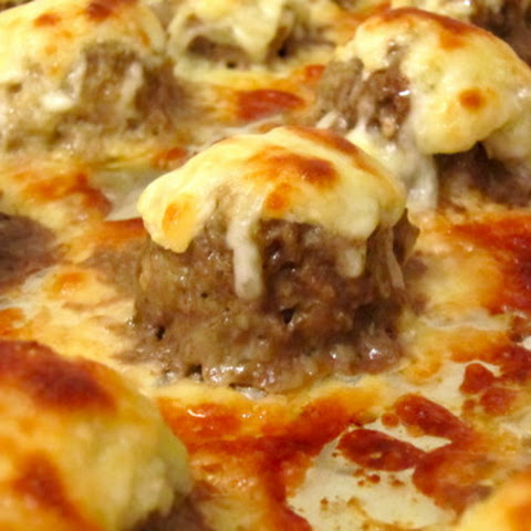 Ooey Gooey Cheesy Meatballs