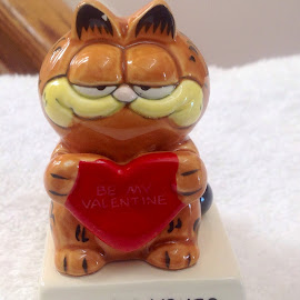 Tiger says I love you by Terry Linton - Artistic Objects Glass (  )
