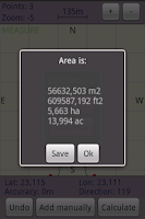 Screenshot of Area Calculator Free