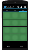 Screenshot of Techno Drum Pads