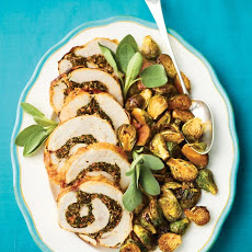 Kale- and Sausage-Stuffed Turkey Breast