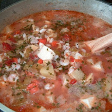 Manhattan-Style Clam Chowder