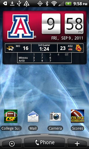 Arizona Wildcats Live Clock