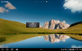 Screenshot of Wifi Widget