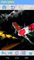 Screenshot of Koi Jigsaw Puzzle
