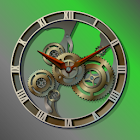 Steampunk Analog Clock Widget icon