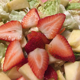Healthy food by Laddawan Donohue - Food & Drink Fruits & Vegetables ( salad, fruits, vegetables, healthy food, strawberry )