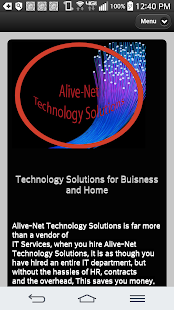 Alive-Net Technology Solutions - screenshot
