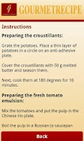 Screenshot of Gourmet Recipes Lite