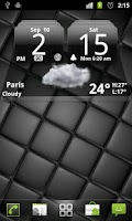 Screenshot of MIUI Dark Digital Weather CL.