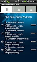 Screenshot of TheGameShowPodcasts