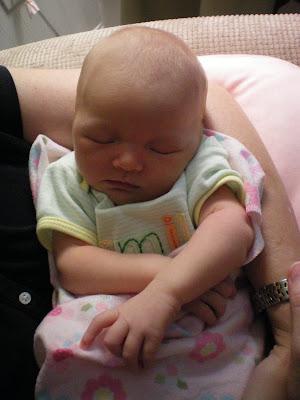 Sleeping Aubrey