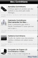 Screenshot of Meu Corinthians