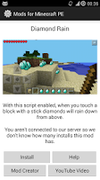 Screenshot of Mods for Minecraft PE