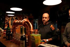 Fabrizio il birraio del birrificio Montelupo