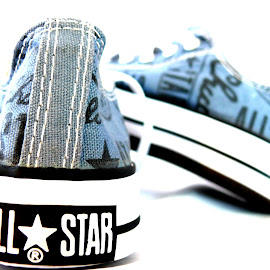 All*Star by Janine Kain - Artistic Objects Clothing & Accessories ( style, footwear, worn, blue, allstar, converse, trainers )
