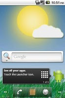 Screenshot of Meteo Wallpaper