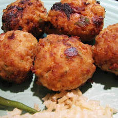 Chicken or Turkey Meatballs (Moroccan Style)