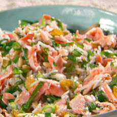 Tangy-Sweet Salmon and Rice Salad