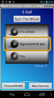 Screenshot of Wheel Of Decision Pro