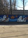 Граффити Michelin