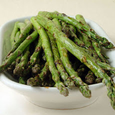 Grilled Asparagus with Balsamic Vinegar