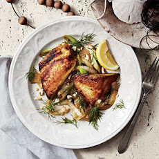 Vietnamese Tilapia with Turmeric and Dill