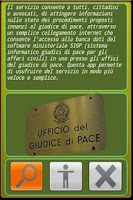 Screenshot of Giudice di Pace
