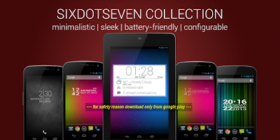 Screenshot of SDS Clock Lite
