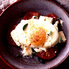 Baked Eggs with Feta