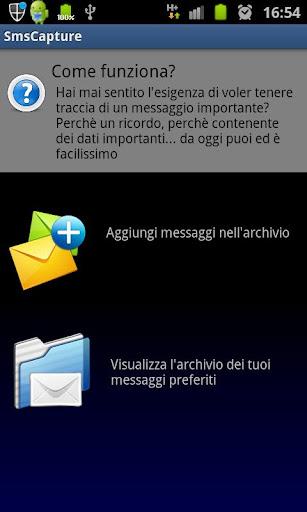 SMS Archivio: Salva mex *Beta*