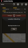 Screenshot of Location Mockup - Fake & Share
