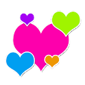 Go Launcher: Rainbow Stickers icon