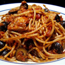 Spaghetti With Italian Tuna & Capers