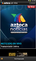 Screenshot of Azteca Live