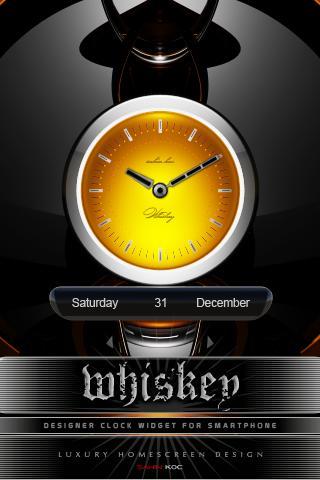 威士忌時鐘部件