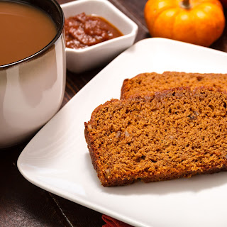 Spiced Pumpkin Pecan Loaf