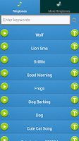 Screenshot of Dance Ringtones