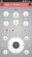 Screenshot of ASmart Remote IR - GALAXY/HTC