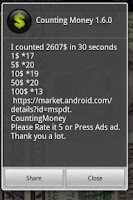 Screenshot of Counting Money