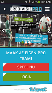 EredivisiePRO - screenshot