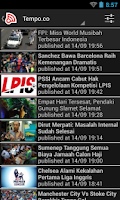 Screenshot of Indonesia Berita