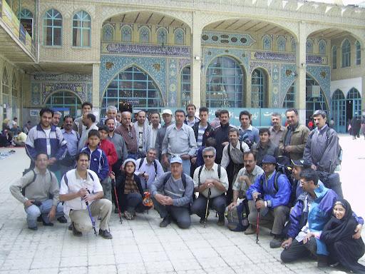 گروه کوهنوردی پژوهشکده در امامزاده داوود(ع)
